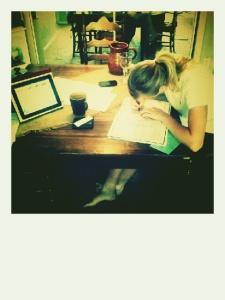Cassie workin' hard